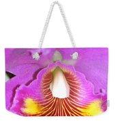 A Purple Cattelaya  Orchid Weekender Tote Bag
