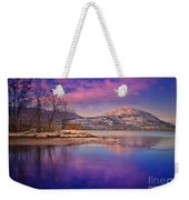 A Purple Surrender Weekender Tote Bag
