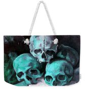 A Pyramid Of Skulls After Cezanne Weekender Tote Bag