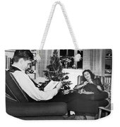 A Quiet Evening At Home Weekender Tote Bag
