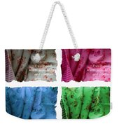 A Quilt Will Warm Your Body And Comfort Your Soul Weekender Tote Bag