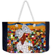 A Quilter's Dream Weekender Tote Bag by Aisha Lumumba