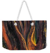 A Radiant Heart Light Weekender Tote Bag by Daina White