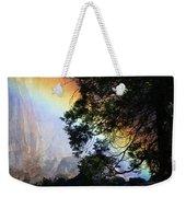 A Rainbow Below Yosemite Falls Weekender Tote Bag