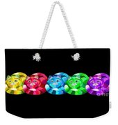 A Rainbow Cats 2 Weekender Tote Bag