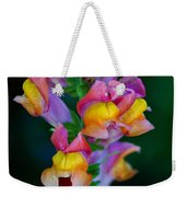 A Rainbow Flower Weekender Tote Bag