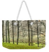 A Rainy Day At The Cemetery Weekender Tote Bag