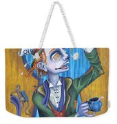 A Raven And A Writing Desk Weekender Tote Bag