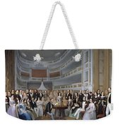 A Reading Of Ventura De La Vega Weekender Tote Bag