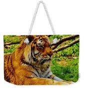 A Real Detroit Tiger Weekender Tote Bag