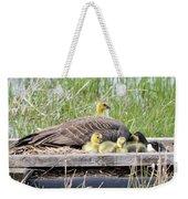 A Real Mother Goose Weekender Tote Bag