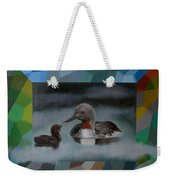 A Red-throated Diver And The Chick Weekender Tote Bag