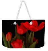 A Red Tulip Day Weekender Tote Bag