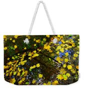 A Reflection Amongst The Leaves Weekender Tote Bag
