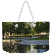 A Reflection Of Chicago Weekender Tote Bag