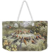A Rehearsal In Fairy Land, Illustration Weekender Tote Bag