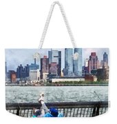 A Relaxing Day For Fishing Weekender Tote Bag