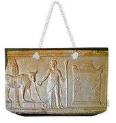 A Relief In Bergama Museum-turkey Weekender Tote Bag