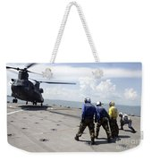 A Republic Of Singapore Air Force Ch-47 Weekender Tote Bag