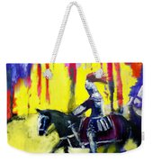 A Ride Through Fire Weekender Tote Bag