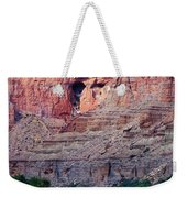 A River Guide Rowing A Wooden Dory Weekender Tote Bag