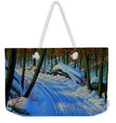 A Road Still Traveled Weekender Tote Bag