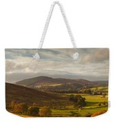 A Road Winding Through An Autumn Weekender Tote Bag
