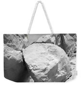 A Rock In A Hard Place. Weekender Tote Bag