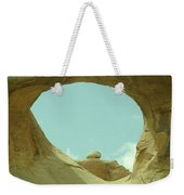 Rock Inside The Window Weekender Tote Bag
