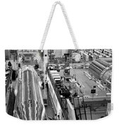 A Rocket Manufacturing Facility. Weekender Tote Bag