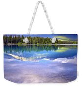 A Rocky Sunset Weekender Tote Bag