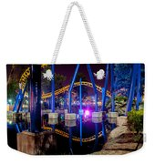 A Rollercoaster At A Theme Park In Usa Weekender Tote Bag