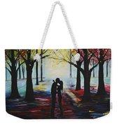 A Romantic Kiss Weekender Tote Bag
