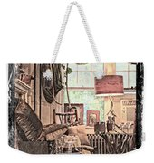 A Room With An Invitation Weekender Tote Bag