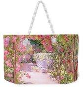 A Rose Arbor And Old Well, Venice Weekender Tote Bag
