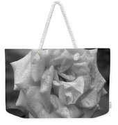 A Rose In Black And White Weekender Tote Bag