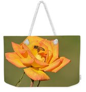 A Rosy View Weekender Tote Bag