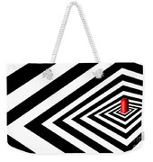 A Round Peg In A Square Hole Weekender Tote Bag