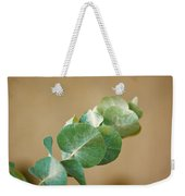 A Row Of Leaves Weekender Tote Bag