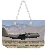 A Royal Air Force C130k Hercules Weekender Tote Bag