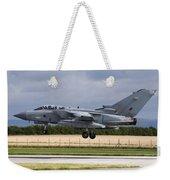 A Royal Air Force Tornado Gr4a Landing Weekender Tote Bag