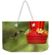 A Ruby-throated Hummingbird Weekender Tote Bag