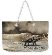 A Saichania Chulsanensis Dinosaur Weekender Tote Bag
