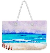 A Sand Filled Beach Weekender Tote Bag