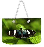 A Sara Longwing Butterfly Heliconius Weekender Tote Bag