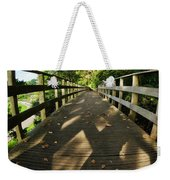 A Scattering Of Leaves Weekender Tote Bag