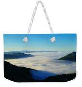 A Sea Of Fog  Weekender Tote Bag