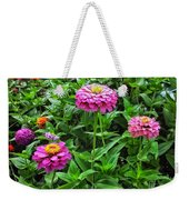 A Sea Of Zinnias 09 Weekender Tote Bag