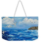 A Seagull's View George's Head Kilkee Co. Clare Weekender Tote Bag