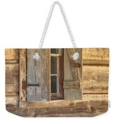 A Seat By The Window Weekender Tote Bag